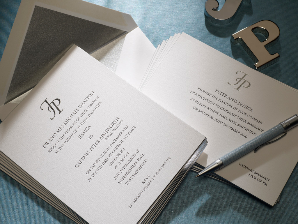 Bespoke Wedding Invitations from Jules