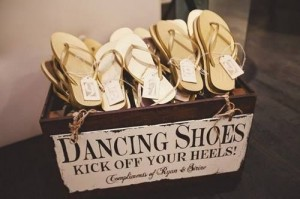 wedding favours - Dancing Shoes