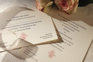 When to book wedding invitations