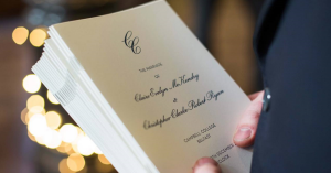 When to book wedding invites